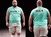 Hombre (talla grande xxl) para modelar ropa interior en catálogo y pasarela