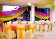 Sonido, banquetes, sala lounge, eventos corporativos, sociales en cali