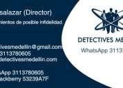 Detectives en envigado y medellin. infidelidad?