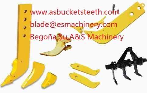 Placa de desgaste excavadora antidesgaste para el botón de desgaste del cucharón