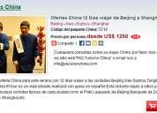 Ofertas china:12 dias viajar de beijing a shanghai