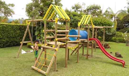 !! fiibras- parques infantiles en madera camiparques