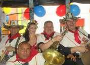 A  carnavalear  con  banda  papayera  en bogota