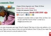 Viajes china agosto con tibet 12 dias