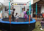 Camas elásticas promoción fiestas infantiles 3132261736