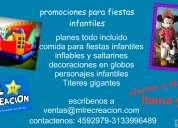 Fiestas infantiles recreacionistas bogota-chia-cajica-cota