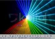 Alquiler y  venta de show laser bogotá colombia