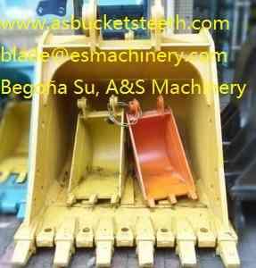 CASE 1088/1188/1288 cuchara excavadora partes del tren de rodaje