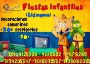Fiestas infantiles, titeres, saltarines, magos, shows musicales