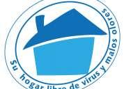 Aseo y desinfección de casas y apartamentos