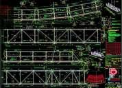 Dibujante tÉcnico industrial proyectista estructural cad