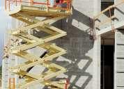 Venta plataforma tipo tijera para trabajo en altura