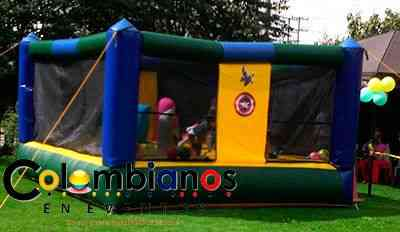 Fiestas infantiles Brinca Brinca en Chía camas elásticas 3132261736