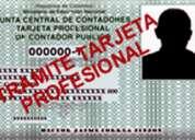 Certificados de ingresos, de contador para personas naturales