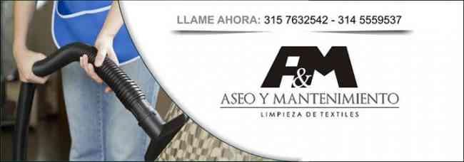 A&M Aseo Y Mantenimiento. Lavado de Muebles y colchones con vapor