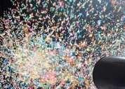 Confeti explosion venturi en medellin