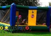 Saltarines fiestas infantiles cajicá camas elásticas 3132261736
