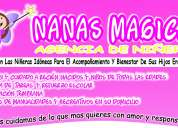 agencia de niñeras nanas magicas