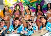 Samba shows, real batucada tÍpica, garotas, bogota 3012510810