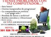 S.o.s mantenimiento y reparacion de computadores medellin