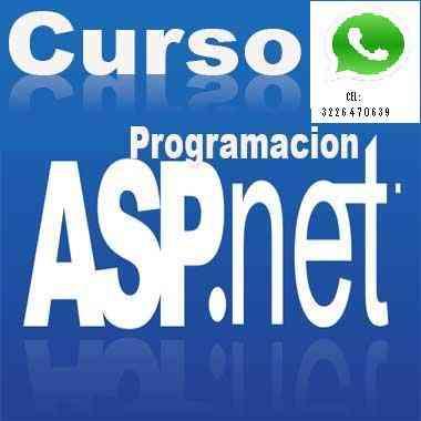 Curso de Programacion Web con ASP.NET cel: 3226470639