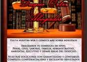Abogados en bogota, civil, penal, familia, administrativo