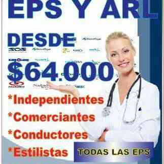 OFRECEMOS SERVICIOS DE AFILIACIONES EPS-ARL-PENSION-CAJA COMPENSACION