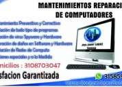 Reparación  de computadores celulares tablets a domicilio trabajos 100% garantizados