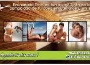 Bronceado piel morena a domicilio bucaramanga