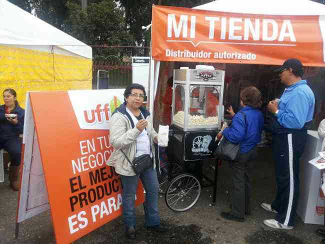 Venta de Maquina de crispetas en Medellin