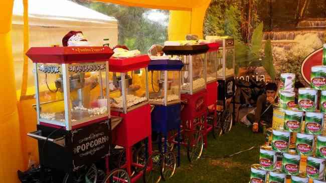 Alquiler maquina de crispetas para eventos en Medelliin