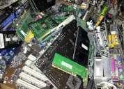 Chatarra  tarjetas electronicas raee y excedentes