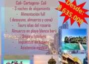 Promocion a cartagena desde $ 635.000