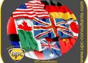 Traducciones y apostillas  oficiales en 8 idiomas