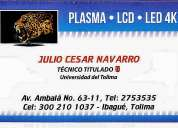 Reparacion y mantenimiento de televisores smart-lcd-led y plasma de todas las marcas