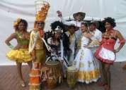 grupo de chirimia , gaitas y millo, parranda vallenata, batucada , papayera en  bogota