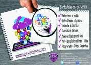 Desarrollo web hosting y dominios tel 5808030