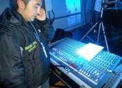 Sonido iluminacion tarimas efectos para eventos sociales
