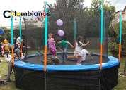 Camas elasticas recreacion fiestas infantiles zipaquira cajica cota 3132261736