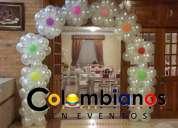 Decoraciones en globos zipaquira 3132261736 fiestas infantiles