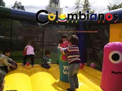 Saltarines fiestas infantiles inflables Tabio Tenjo 3132261736