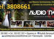 Alquiler de luces para fiestas eventos minitk en barranquilla 3808661