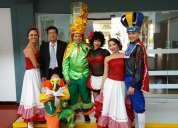 Show carnaval de barranquilla en bogotá músicos y bailarines