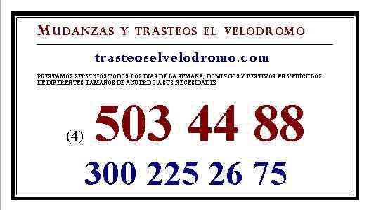 MUDANZAS ENVIGADO 503 44 88