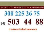 Trasteos en medellin  503 44 88  300 225 26 75