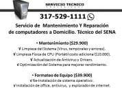 Mantenimiento y reparacion de computadores a domicilio en chia