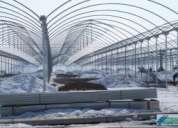 Construccion de invernaderos y pilas paraobras civiles