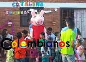 Pepa pig fiestas infantiles chia recreación 3132261736