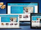 Página web desde $464 000 +iva, hosting, dominio, correo electrónico