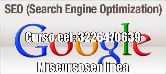 curso de seo cel: 3226470639 Creación de contenido para SEO